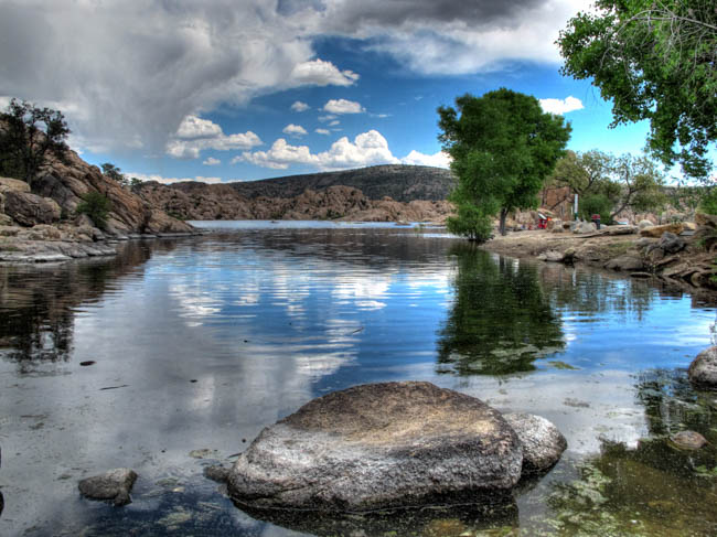 Watson Lake on the Prescott Circle Trail Recreation Hiking