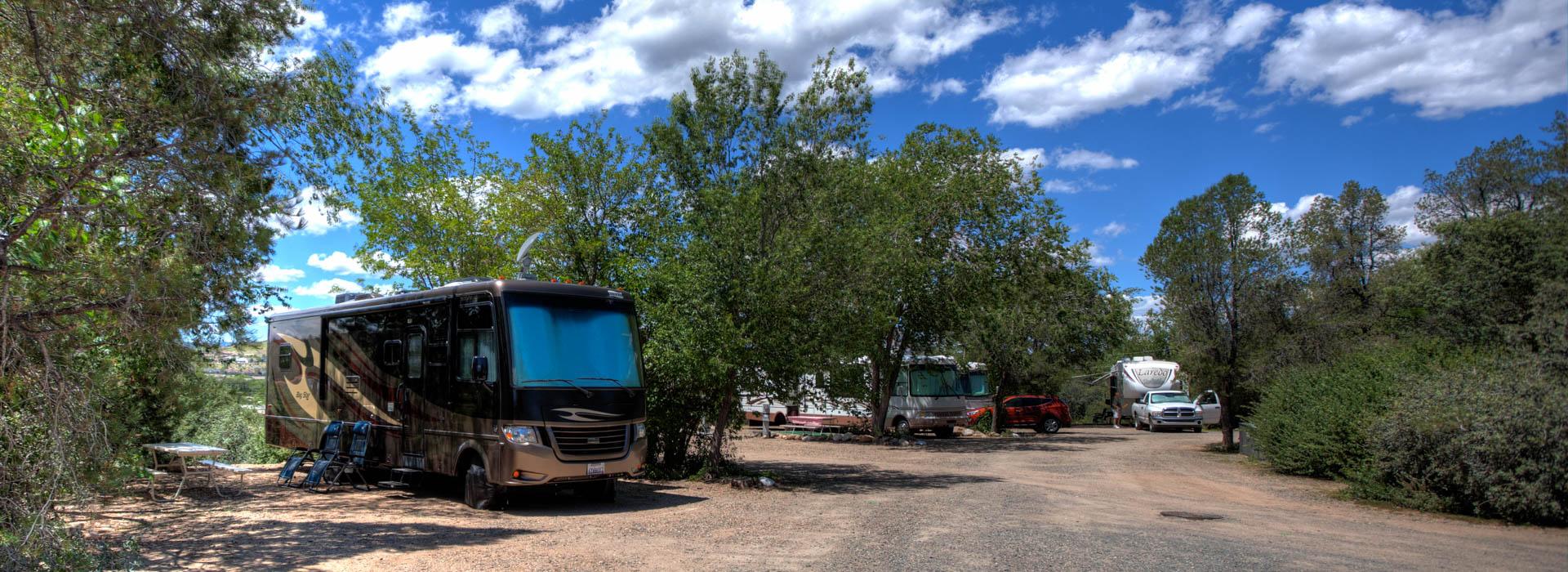 RV Camping Prescott AZ photographer Richard Charpentier
