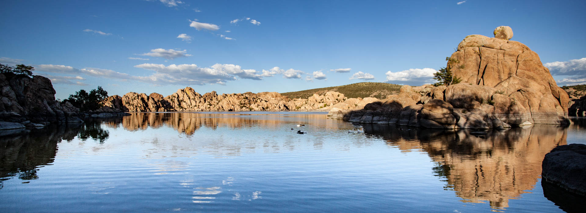 Watson Lake High Sun Prescott Arizona Photographer Richard Charpentier