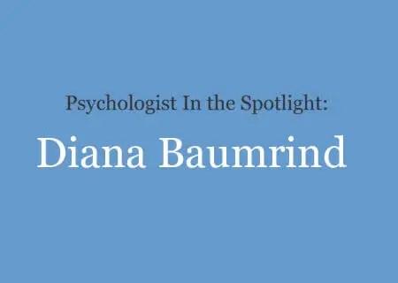 Diana Baumrind biography
