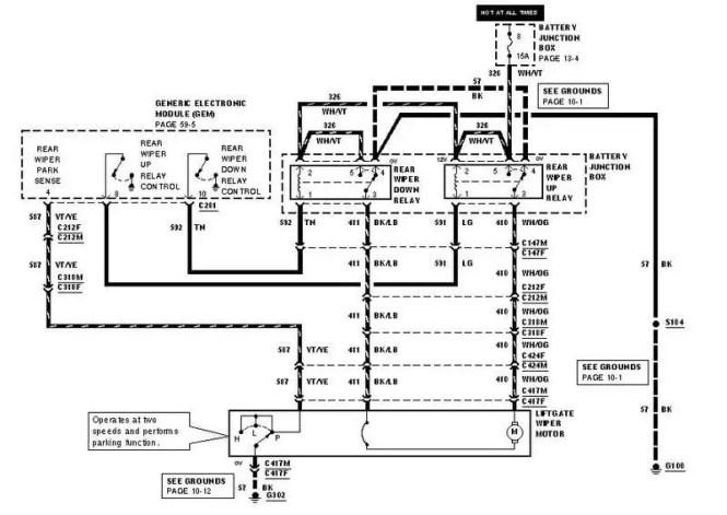2001 ford explorer wiring diagram 2001 image 2001 ford explorer sport trac rear window wiring diagram jodebal com on 2001 ford explorer wiring