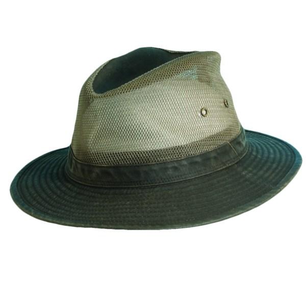 Weathered Cotton Safari Hat Explorer Hats