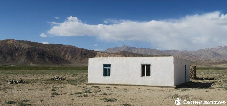 Maison de style classique au Pamir