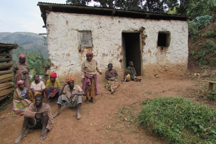 Famille Twa de Makanga en Ouganda