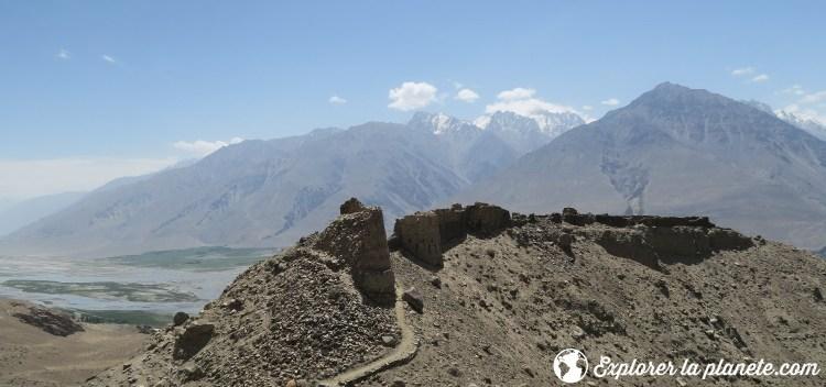Forteresse de Yamchun au Tadjikistan