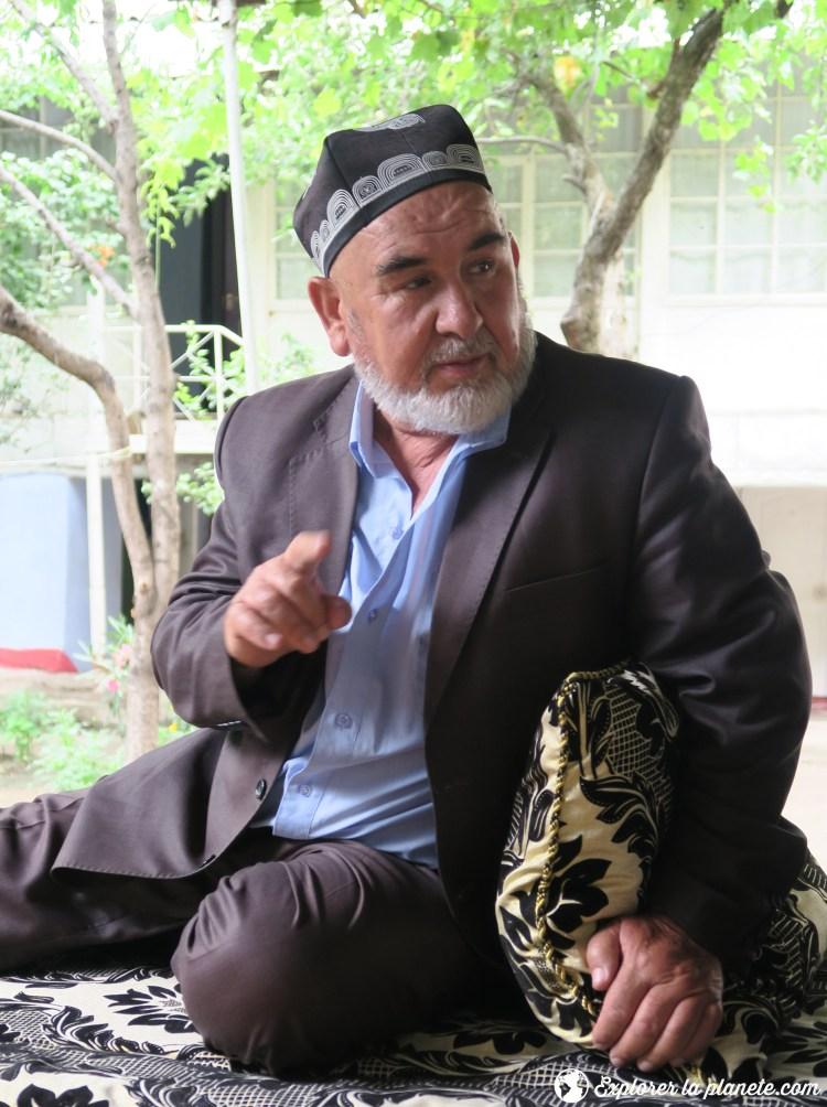 Homme au Tadjikistan