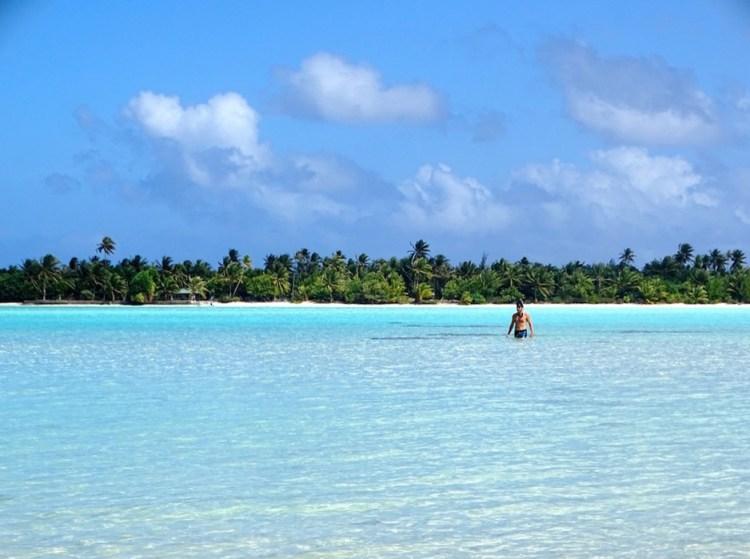 Lagon à Maupiti en Polynésie française destinations en dehors des sentiers battus