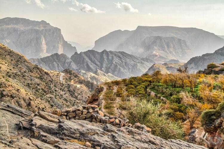 Montagnes de Jebel Al Akhdar destinations en dehors des sentiers battus