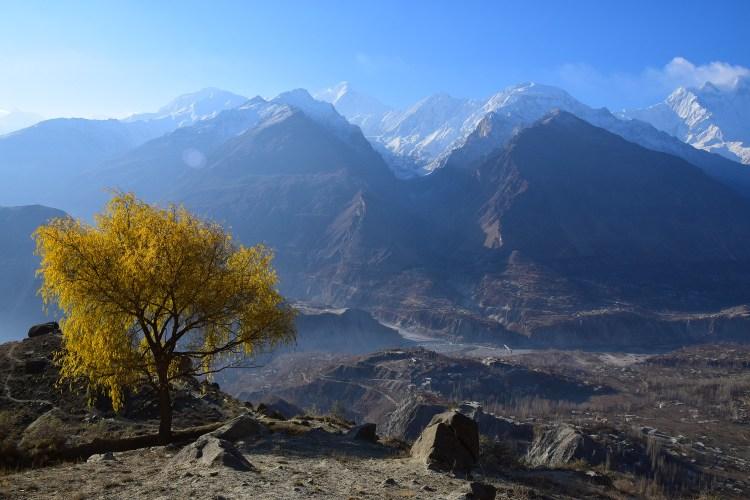 Montagnes au Pakistant à Karimabad destinations en dehors des sentiers battus