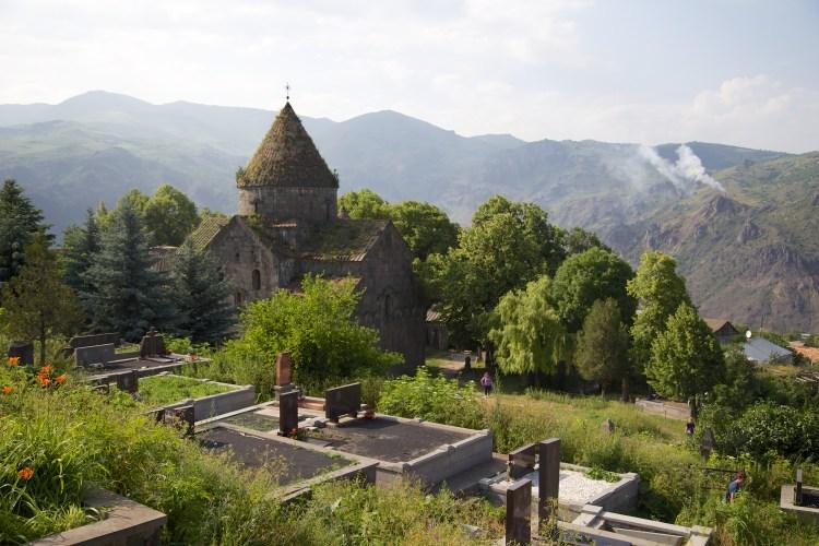 Monastère en Arménie destinations en dehors des sentiers battus
