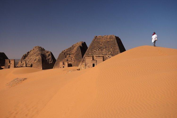Pyramides de Meroe au Soudan