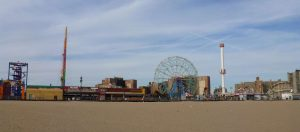 View of Coney Island New York