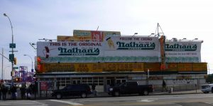 The original Nathan's Hotdog New York