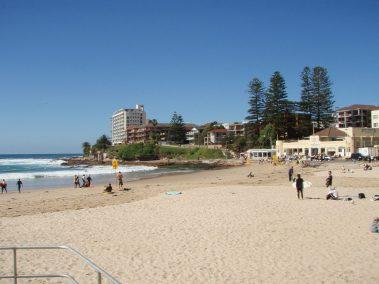 Cronulla beach in Bate Bay, in Cronulla, New South Wales, Australia