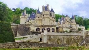 Château d'Ussé Sleeping beauty's castle France