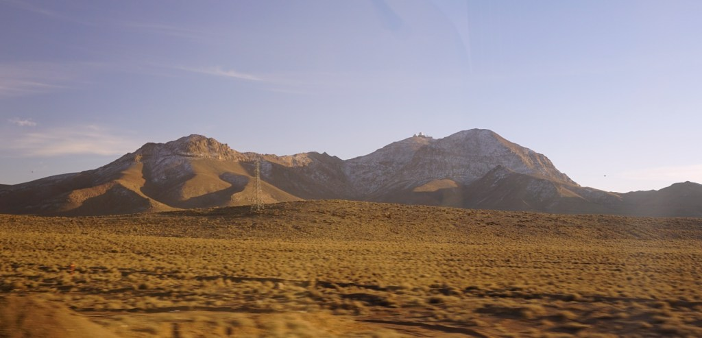 Mountains and desert in Iran
