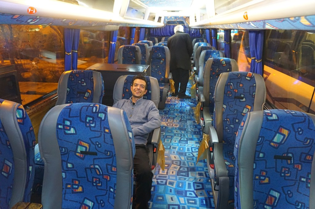 VIP busses in Iran