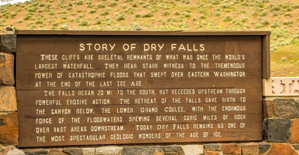 Dry Falls Washington
