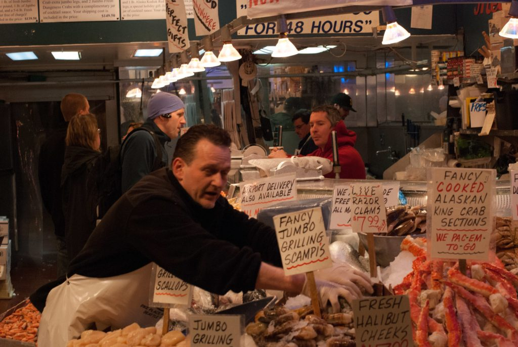 Pike Place Fish Stand