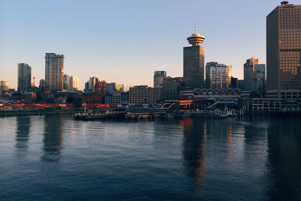 Vancouver Dusk - photo by gabriel-santiago