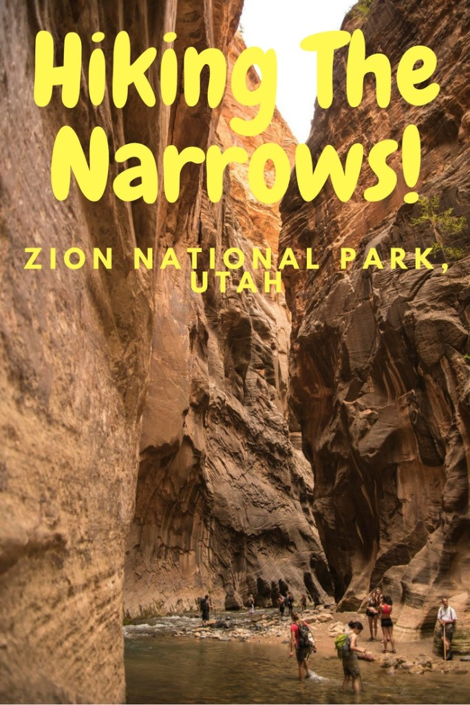Hiking the Narrows Utah