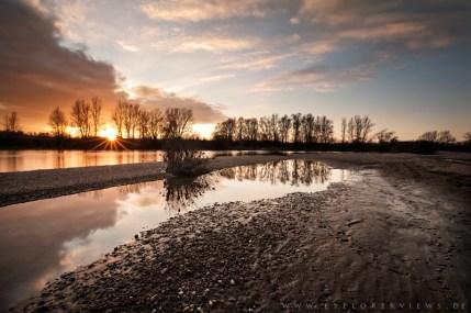 Allier RiverFoto Ausstellung Auvergne
