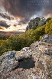 Vulkanschlot Auvergne