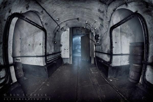 Maginot Linie Bilder Tunnel im Bunker