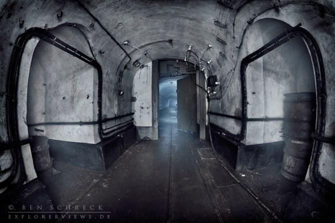 steel reinforced door in the Maginot Line