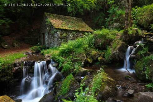 Cascade de Moulin Cantal 2186