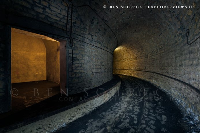 Bunker der Maginot Linie Munitionslager