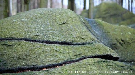 Odenwald Steine im Wald