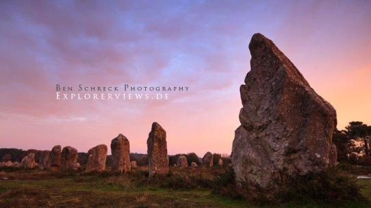 Sites megalithiques de Carnac Bretagne