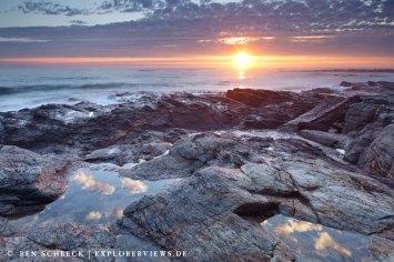 Sonnenuntergang Biscaya