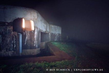 Maginot Panzerscheinwerfer Kasematte Edling