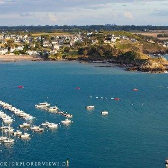 Boote im Hafen Erquy