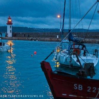 Boote im Hafen von Erquy