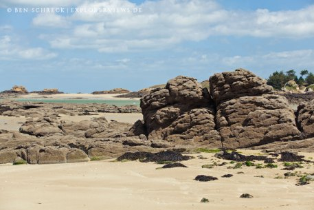 bretonische Insel Hebihens