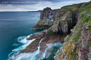 Wilde Felsen Bretagne