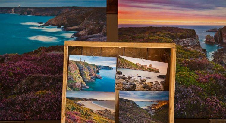 Postkarten Leinwände Fotos