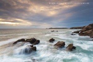 Fotos der Bretagne Küste Quiberon