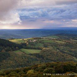 Auvergne Wald Ausblick 2103