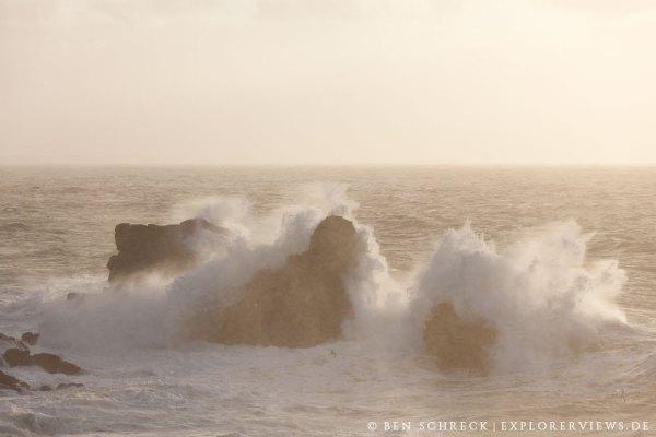 Quiberon Wellen Brandung