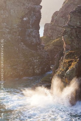 Cap Frehel Rocks and Waves
