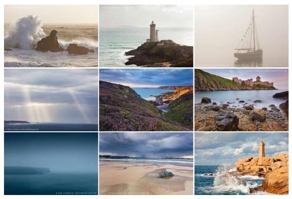 Bretagne Kalender 2020 Übersicht