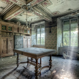 Beauty in decay Dining Room