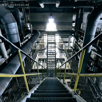 Industry lost place Staircase