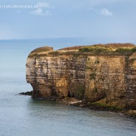 Omaha Beach Cliffs