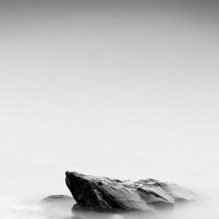 Stone in milky Water