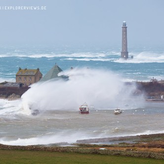 Tempete Ines Phare Goury